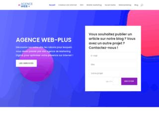 Détails : Agence Web Plus