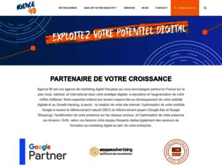 Détails : Agence 90: Boostez votre empreinte sur le web grâce au marketing digital