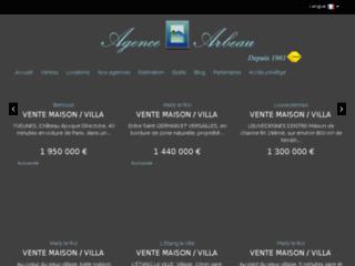 Vente de maison et d'appartement à Louveciennes