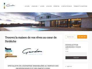 Agence immobilière Gardon