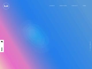 kali • agence web basée à lyon spécialisée dans la conception et la production de sites web et mobile