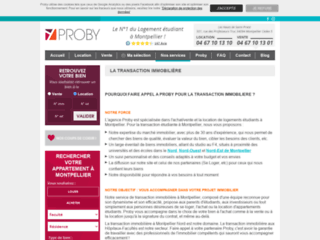 Agence Proby Transactions