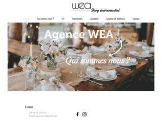 L'Agence WEA, blog événementiel