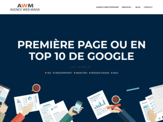 Agence web Mada