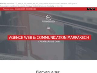 Détails : Agence de communication et publicité à Marrakech .