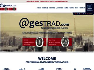 Agestrad, pour vos besoins en traductions professionnelles certifiées