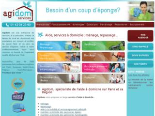 Détails : Agidom : service à la personne et aide à domicile