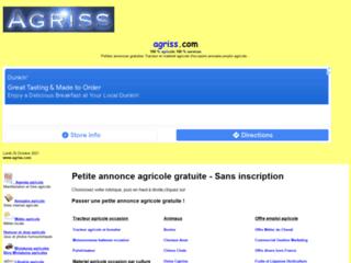 Détails : Agriss-Tracteur et matériel agricole occasion