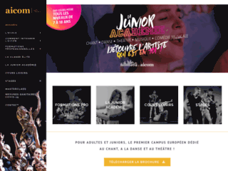 Ecole Broadway - Formation chanteur Paris