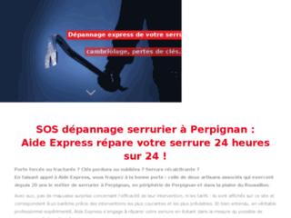 Aide Express - Dépannage serrurerie express 24h/24