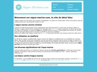 Détails : Tout savoir sur l'aigue-marine
