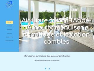 Entreprise de menuiserie Air Libre, Pont l'Abbé d'Arnoult