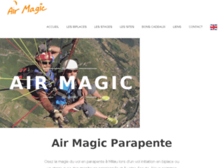 Détails : Air Magic Parapente Millau