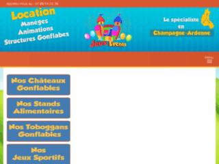 Détails : Location et organisation des évènements d'animation