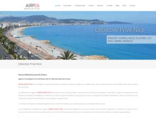 Detective privé Nice / Cannes / Monaco - AIRP06 DETECTIVES