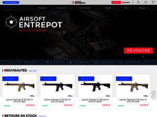 Commandez vos airsofts sur Airsoft Entrepot