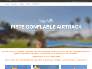 Tapis gonflable Airtrack