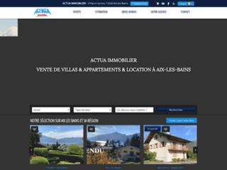 Détails : Tout l'immobilier du lac du Bourget