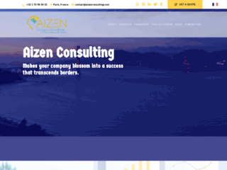 Détails : Aizen Consulting, développement d'entreprise à l'international