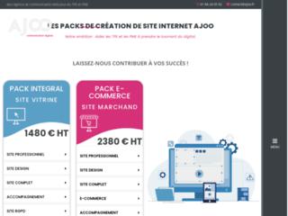 Ajoo : création de sites internet et référencement seo