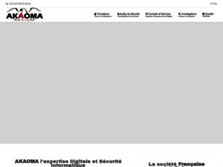 Détails : Conseil et expertise en sécurité informatique, test d'intrusion et formation sécurité informatique.