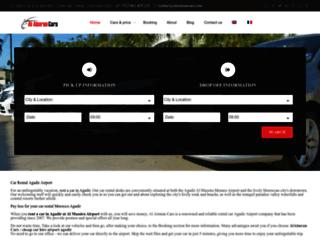 Détails : location de voiture à Agadir