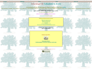 Généalogie de Colombier-le-Jeune