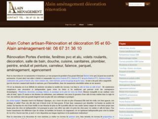Détails : Alain aménagement rénovation