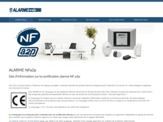 Certification NFa2p pour alarme de maison
