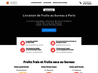 Détails : Fruits au bureau en livraison dans Paris - Alex & Alex