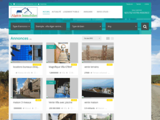 Détails : Immobilier Algerie - Petites Annonces Immobilieres en Algerie