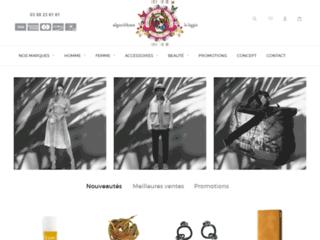Détails : Boutique Algorithme : le temple de la mode et des créateurs à Strasbourg