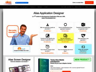 Alias - Le premier outil de création d'application sans programmation