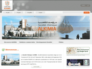 Détails : Alkimia, fournisseur de produits chimiques en Tunisie