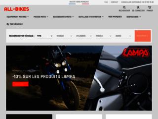Détails : all-bikes.fr, site spécialisé dans l'accessoire moto