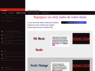Chat webcam et outils webmasters
