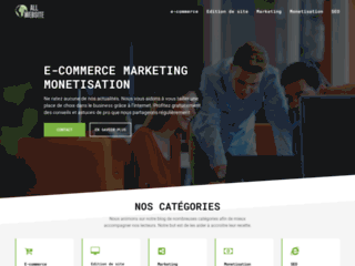 Détails : Allwebsite Solutions, agence web Paris 75