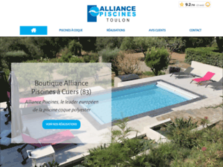 Alliance Piscines Toulon, pisciniste dans le Var