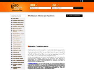 Détails : Installation alarme