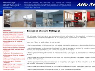 Allo-Nettoyage - entreprise de nettoyages en Suisse romande