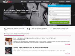 Allocam, webcam et chat coquin
