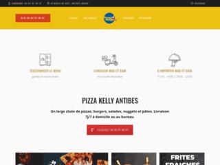Pizza Kelly, livraison de pizzas à domicile sur Antibes