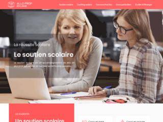 Détails : Allo prof en ligne