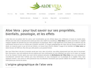 Détails : Aloe vera pour le bien être