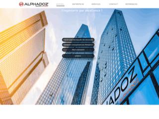 Détails : Alphadoz : Cabinet de recrutement international