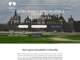 Détails : Agence immobilier chantilly