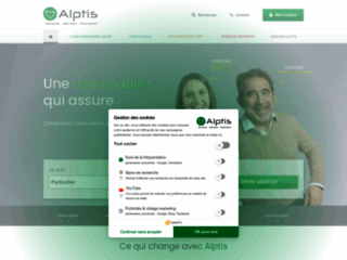 Détails : Alptis, les assurances qui vous correspondent