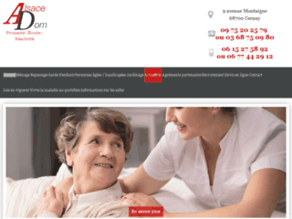 Alsaceadom: un service sur-mesure d'aide à domicile (Haut-Rhin)