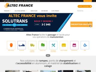 Altec France : des professionnels de la manutention