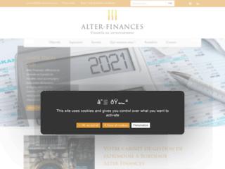 Alter Finances : cabinet de gestion de patrimoine